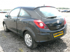 VAUXHALL CORSA MK3  D   TAILGATE  BLACK  INC GLASS  2009+